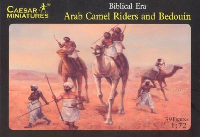 023 - Arab Camel Riders and Bedouin 1/72