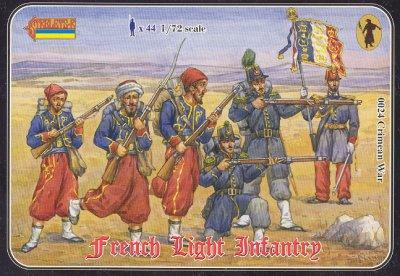 024 - Crimean War French Light Infantry 1/72