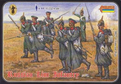 025 - Crimean War Russian Line Infantry 1/72