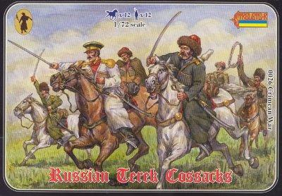 026 - Russian Terek Cossacks 1/72