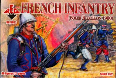 72027 - French Infantry 1/72