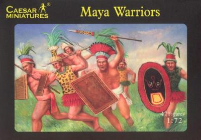 027 - Maya Warriors 1/72