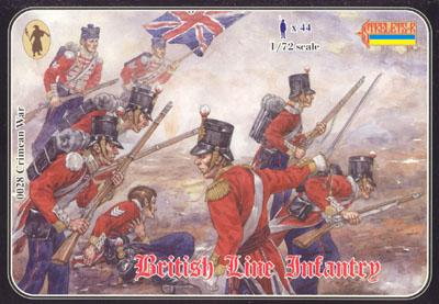 028 - Crimean War British Line Infantry 1/72