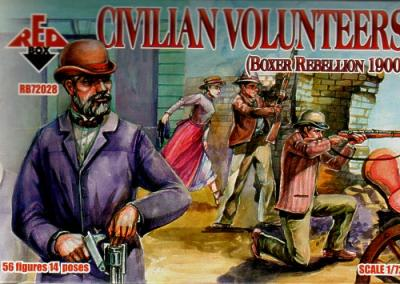 72028 - Civilian Volunteers 1/72