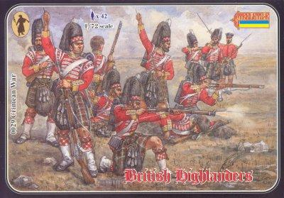 029 - Crimean War British Highlanders 1/72