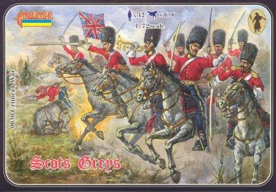 030 - Crimean War Scots Greys 1/72