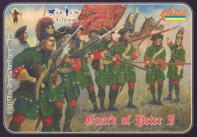 031 - Guard of Peter I 1/72