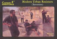 031 - Modern Urban Resisters 1/72