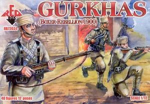 72034 - Boxer Rebellion Gurkhas 1/72