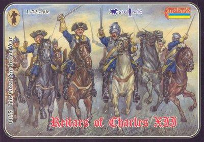 035 - Reitars of Charles XII 1/72