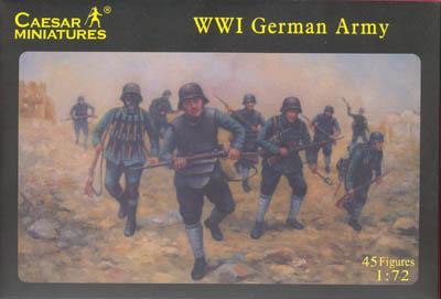 035 - WW1 German Army 1/72