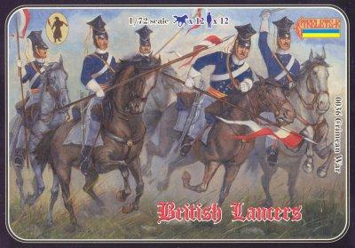 036 - Crimean War British Lancers 1/72