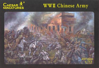 036 - WWII Chinese Army 1/72