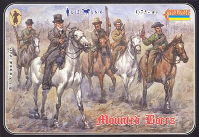 037 - Mounted Boers 1/72