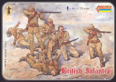 038 - Boer War British Infantry 1/72