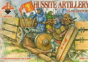 72038 - Hussite Artillery 1/72
