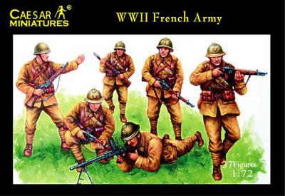 038 - WWII French Army 1/72