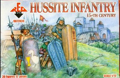 72039 - Hussite Infantry 1/72