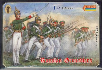 039 - Crimean War Russian Grenadiers 1/72