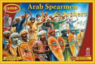 GBP04 - Arab Spearmen & Archers 28mm