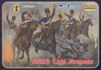 040 - Crimean War British Light Dragoons 1/72