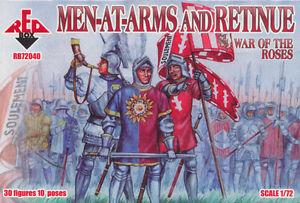 72040 - Men-at-Arms and Retinue 1/72