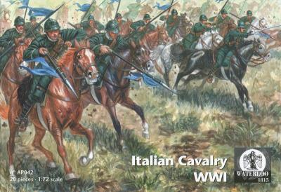 AP042 World War II Italian Cavalry 1/72