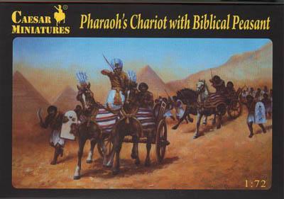 042 - Pharaoh's Chariot with Biblical Peasant 1/72