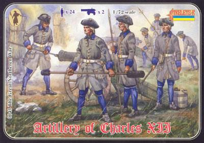 043 - Artillery of Charles XII 1/72