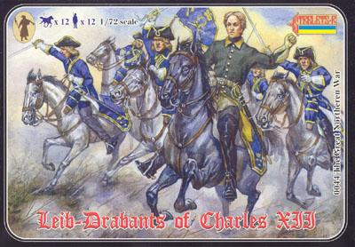 044 - Leib-Drabants of Charles XII 1/72