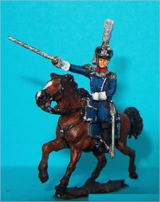 JS72/0449 - Officier à cheval français 1/72