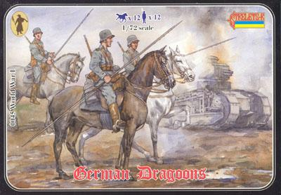 045 - WW1 German Dragoons 1/72