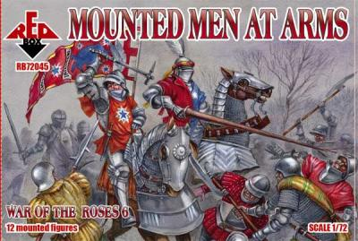 72045 - Mounted Men at Arms 1/72