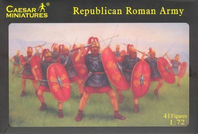 045 - Republican Roman Army 1/72
