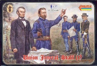 046 - Union General Staff (1) 1/72