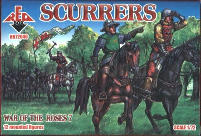 72046 - Wars of the Roses Scurrers 1/72