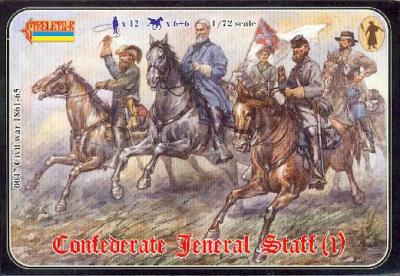 047 - Confederate General Staff 1/72