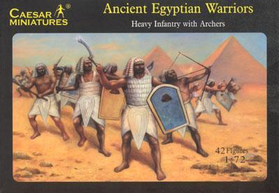 047 - Ancient Egyptian Warriors 1/72