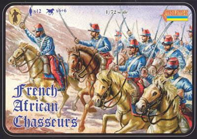 049 - French African Chasseurs 1/72