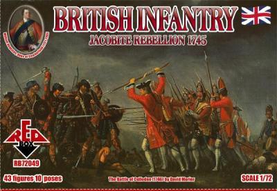 72049 - British Infantry 1/72