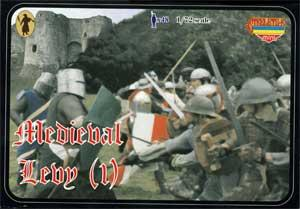 M005 - Medieval Levy (1) 1/72