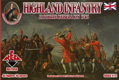 72050 - Highland Infantry 1/72
