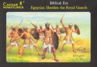 050 - Egyptian Sherden the Royal Guards 1/72