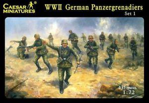 052 - German Panzergrenadiers (Set 1) 1/72