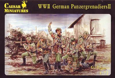 053 - WWII German Panzergrenadiers II 1/72