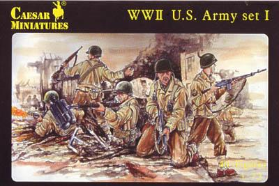 054 - WWII US Army (Set 1) 1/72