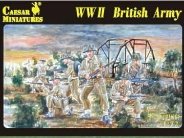 055 - WW2 British Army 1/72