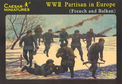 056 - WW2 Partisans in Europe 1/72