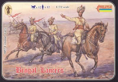 057 - Bengal Lancers 1/72