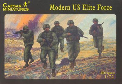 058 - Modern US Elite Force 1/72